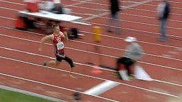 Dálkař Markus Rehm vylepšil v Ulmu paralympijský rekord.