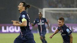 Góly Zlatana Ibrahimovice ve francouzském Superpoháru