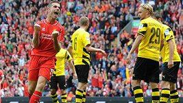 Liverpool v generálce rozdrtil Dortmund