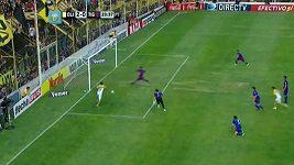 Kolumbijec Borja a jeho neproměněná šance proti Tigre.