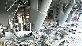 Doněcká Donbass Arena je po bojích zcela zničená