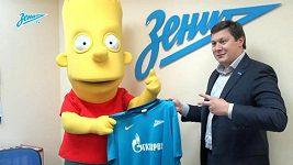 Bart Simpson novou posilou Zenitu Petrohrad