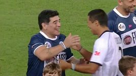 Game highlights Match for Peace with Maradona