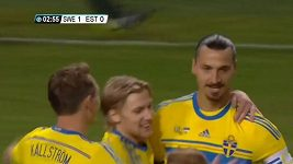 Ibrahimovic zařídil výhru Švédska