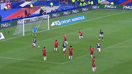 Gól Francie proti Španělsku