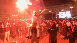 Chorvati oslavují vítězství Cilice na US Open