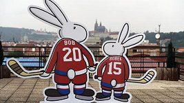 Odhalení maskota pro MS v hokeji 2015
