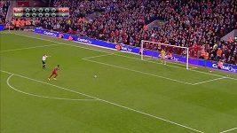 Penaltový rozstřel v Liverpoolu