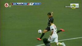 Dalekonosný gól v kostarické lize