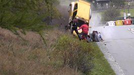 Nehoda při rallye v Itálii