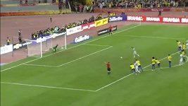 Brazílie porazila v přípravě Argentinu