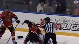 Brutální napadení v AHL