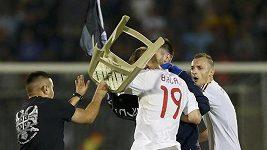 Konflikt v kvalifikačním zápase mezi Srbskem a Albánií