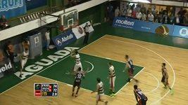 Basketbalista zkusil kulišárnu
