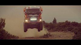 Aleš Loprais testoval kamión MAN