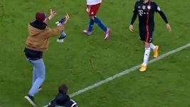 Fanoušek zaútočil na Francka Ribéryho