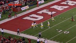 Kuriózní touchdown