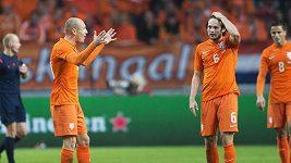 Sestřih gólů z utkání Nizozemsko - Mexiko