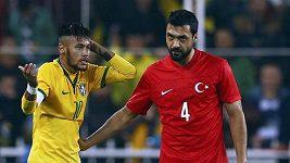 Sestřih gólů z utkání Turecko - Brazílie
