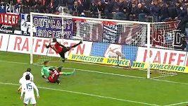Chycená penalta