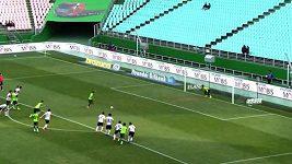 Korejcům finta při penaltě vyšla