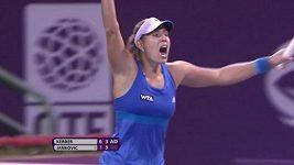 Nejlepší údery WTA za rok 2014