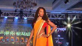 Venus Williamsová jako indická tanečnice
