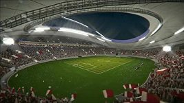 Stadión Khalifa pro MS 2022 v Kataru