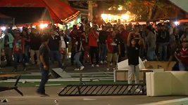 Při potyčkách v Mexiku bylo zraněno 20 policistů