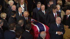 V Montrealu se konal pohřeb bývalého kanadského hokejisty Jeana Béliveaua