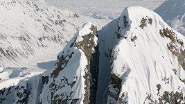 Cody Townsend projel horskou skluzavkou