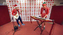 Vánoční píseň fotbalistů Arsenalu