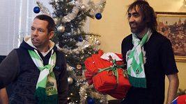 Fotbal pomáhal i o Vánocích