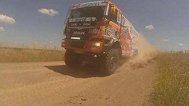Loprais a Kolomý na Dakaru