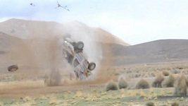 Děsivá nehoda na Rallye Dakar