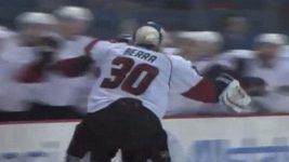 Gól brankáře v zámořské AHL