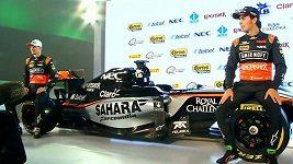 Premiéra vozu Force India na sezónu 2015