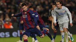 Messi rozhodl o výhře Barcelony nad Atlétikem