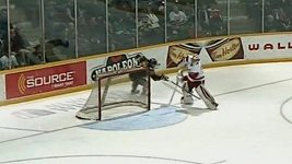 Vlastní gól v kanadské juniorce