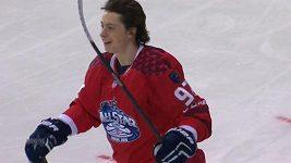Parádní nájezd Guseva v Utkání hvězd KHL