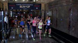 Běh do schodů na Empire State Building