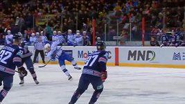 Nafilmovaný pád Dana Sextona v KHL