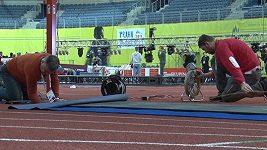 Pražská O2 arena se připravuje na HME v atletice