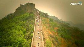 Velká čínská zeď, více jak 5000 schodů.