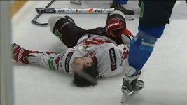 Zranění Sergeje Kalinina