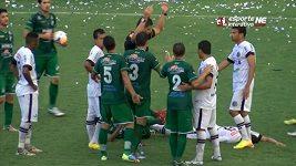 Brutální zákrok v regionálním poháru v Brazílii