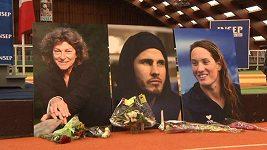 Francouzi uctili památku obětí z leteckého neštěstí v Argentině