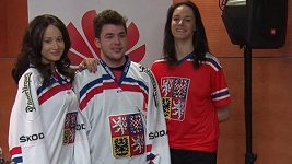 Nové dresy hokejové reprezentace