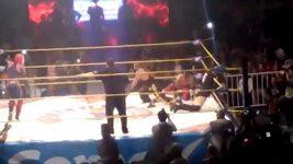 Tragická smrt v ringu