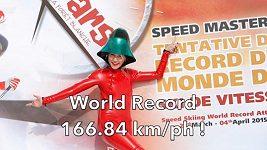 Lyžařský rychlostní rekord s protézou